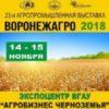 XXIII Международная выставка «ВОРОНЕЖАГРО-2018»